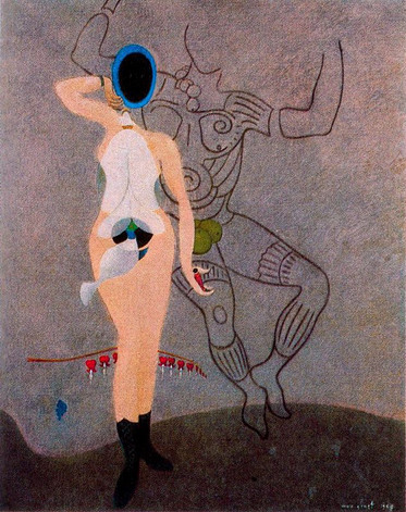 The Beautiful Gardener by Max Ernst