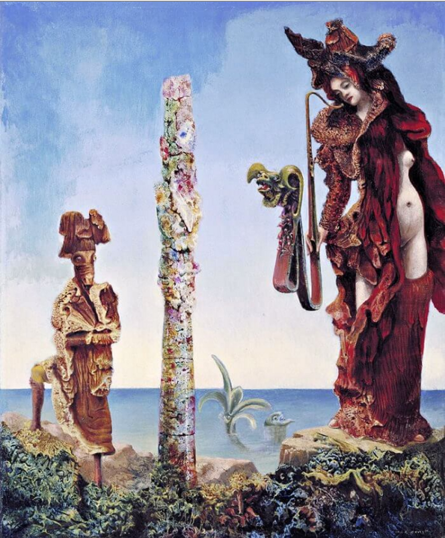 Napoleon In the Wilderness by Max Ernst