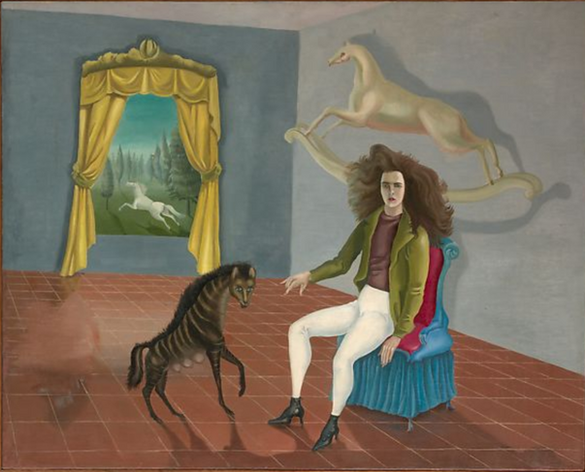 Leonora Carrington's Self-Portrait, Inn of the Dawn Horse
