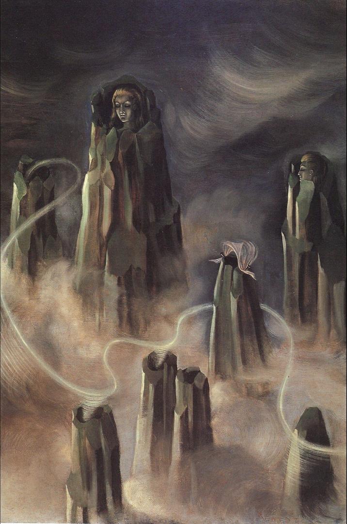 Las Almas De Los Montes by Remedios Varo