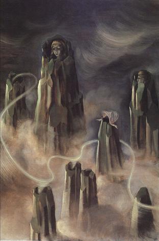 Las Almas de los Montes (Espíritus de la Montaña), by Remedios Varo