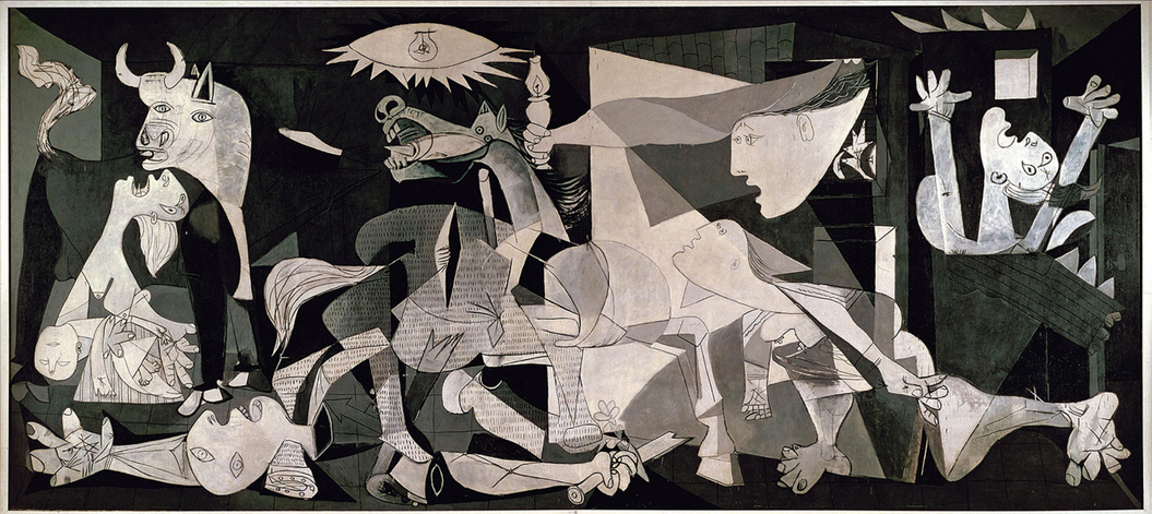 Guernica, by Pablo Picasso,