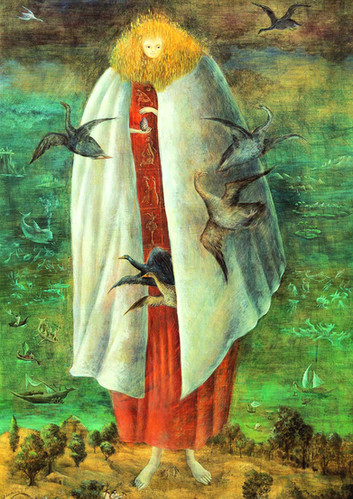 The Giantess (The Guardian of the Egg) by Leonora Carrington