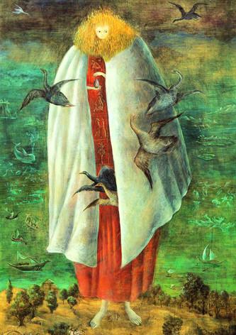 The Giantess, by Leonora Carrington