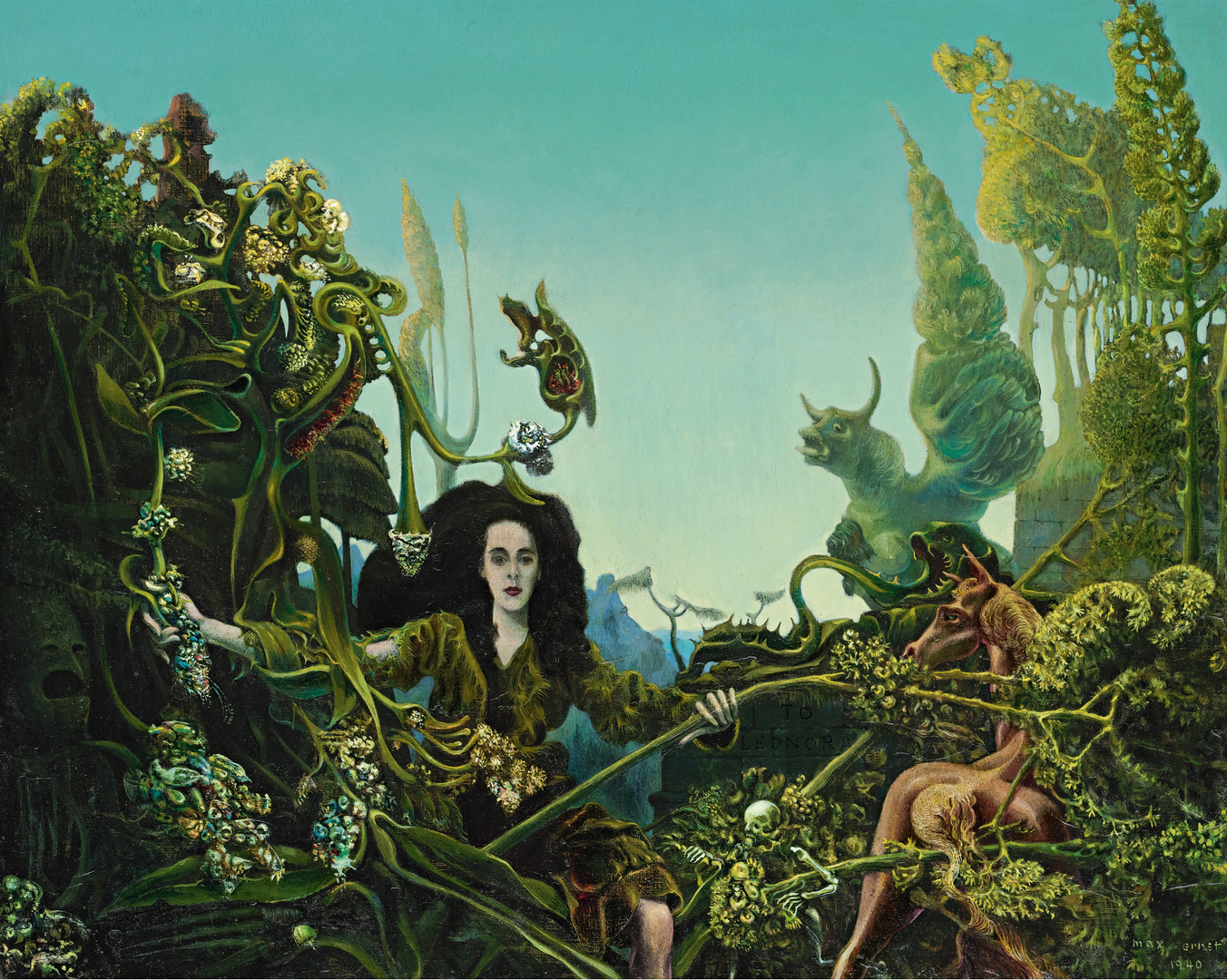 Leonora In the Morning Light by Max Ernst