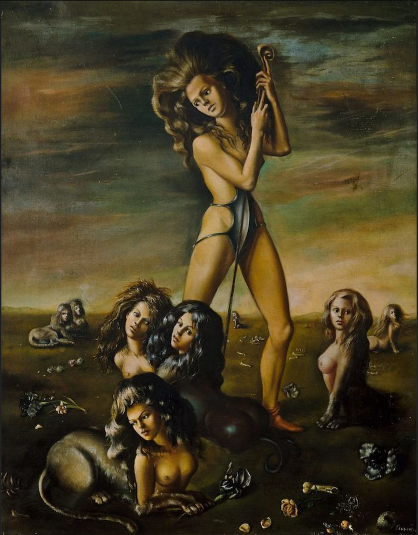 Shepherdess Of the Sphinxes by Leonor Fini