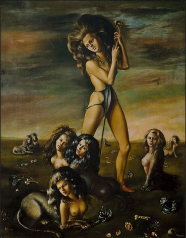 Shepherdess Of the Sphinxes, by Leonor Fini