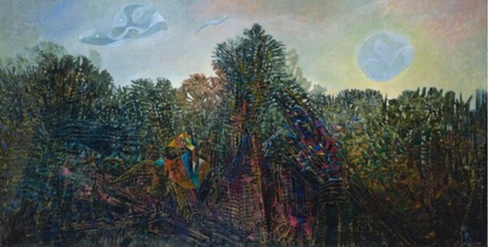 A Moment of Calm by Max Ernst