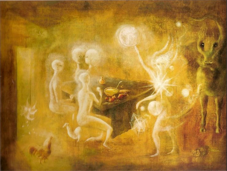 Sidhe, the White People Of Tuatha de Dannan by Leonora Carrington