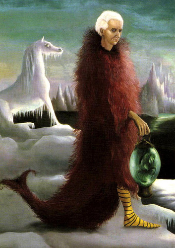 Portait of Max Ernst by Leonora Carrington