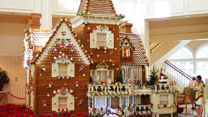 A CHRISTMAS TRADITION, THE HISTORY OF THE GINGERBREAD HOUSE