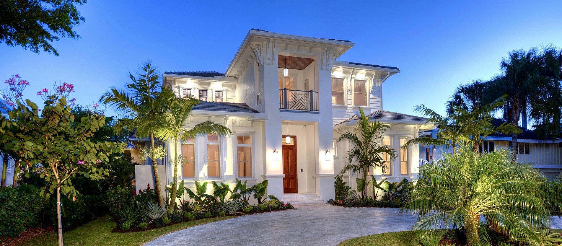 Naples custom home builders for Luxury built homes