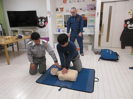 救命講習(AED講習)