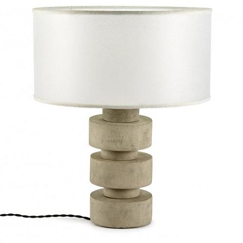 Beton tafellamp - Betongrijs