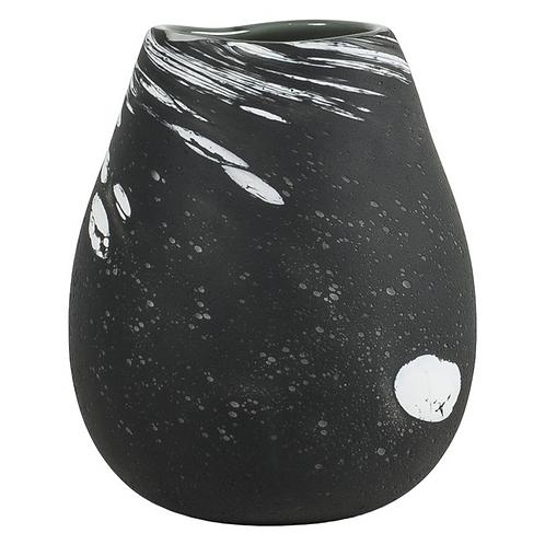 Fossiel glas - Grijs/Zwart