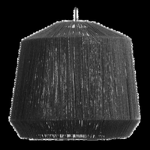 Hanglamp naturel - Zwart