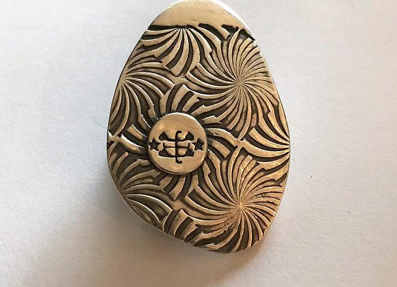 Spiral Spirit Bahai Symbol Custom Designed Pendant