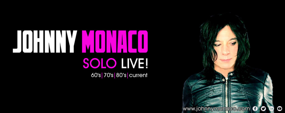 Johnny Monaco SOLO LIVE!