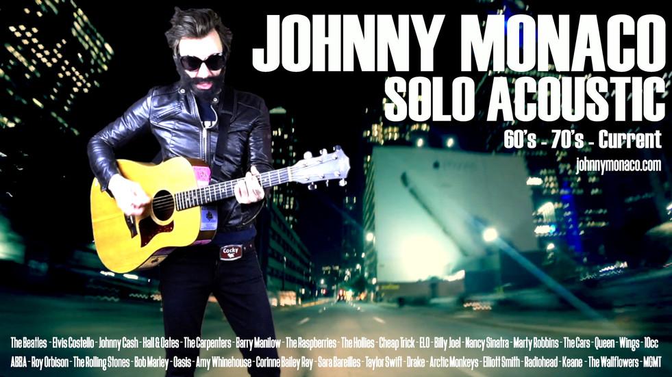 Johnny Monaco Solo Acoustic
