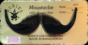 Johnny's Fake Moustache