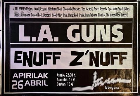 L.A Guns & Enuff Z'Nuff  2003
