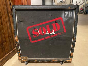 Marshall 4X12 Speaker Cabinet (JCM 800 L