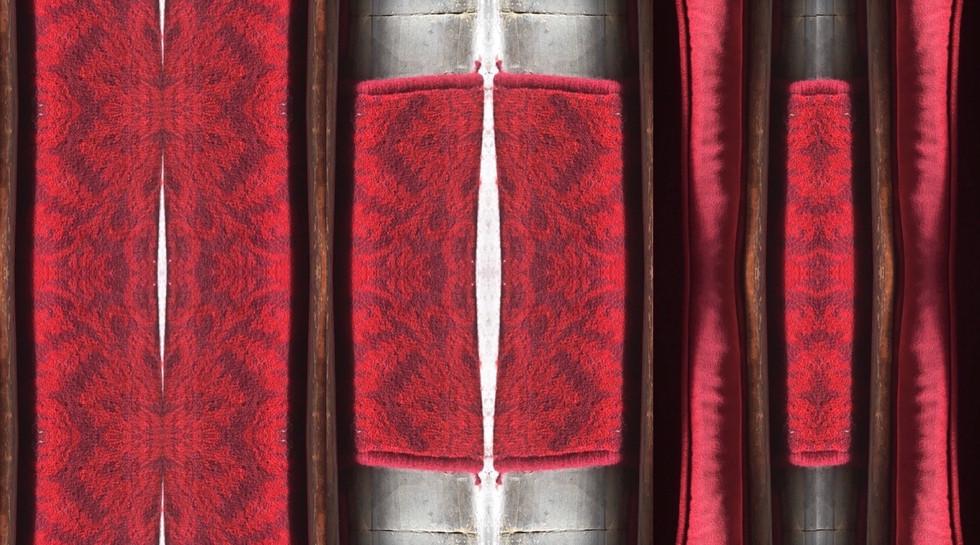 Red Triptych 3