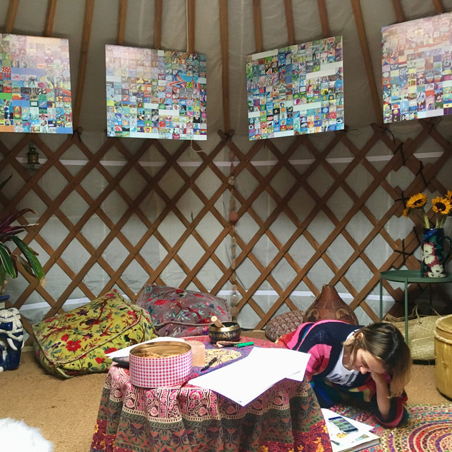 Urban Yurt Workshop, 2018