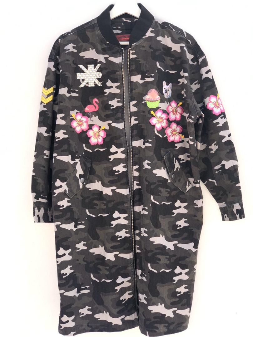 Jacket PINK.camouflage