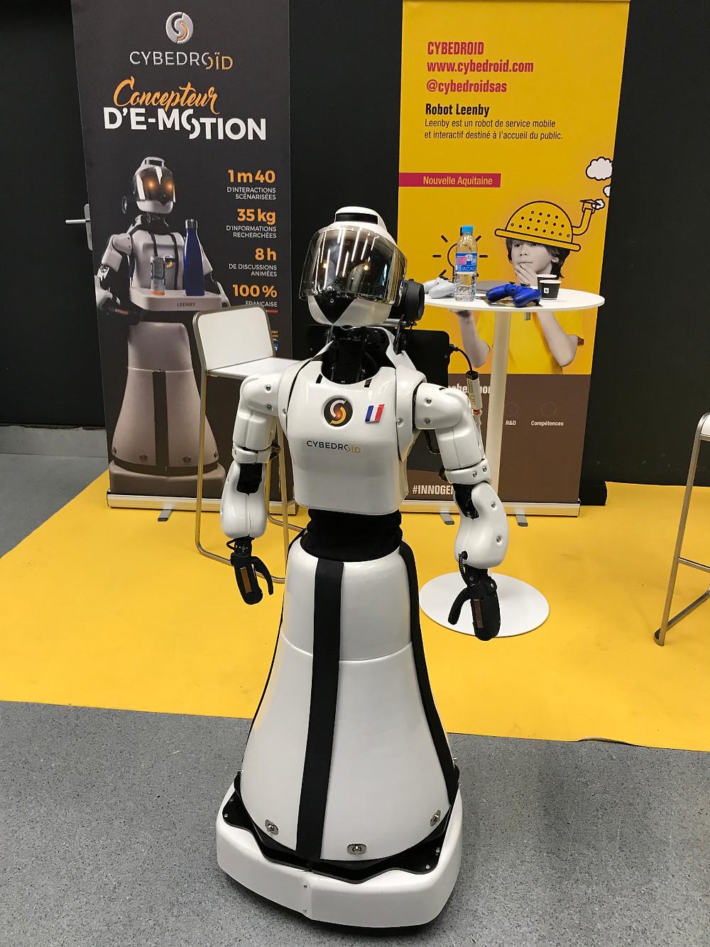 la Robotique était présente avec ces robots d'aide à la personne