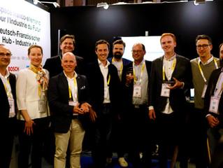 Vivatech 2019 : Remise des prix à 3 start-up à l'espace franco-allemand pour l'Industrie du