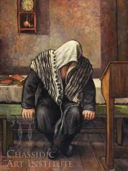 Chassid Praying