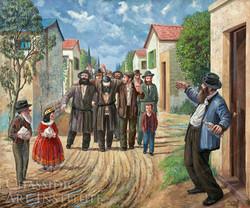 Purim in Kfar Chabad