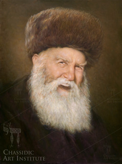 Previous Rebbe with Hat