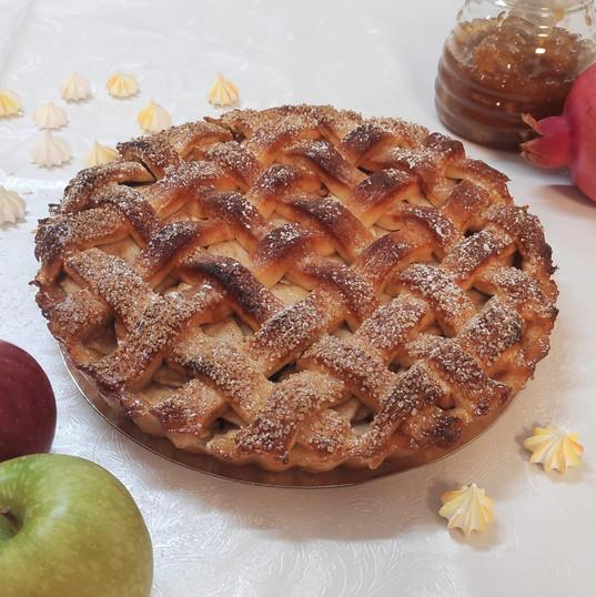 פאי תפוחים כפרי