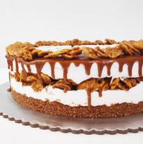 עוגת גבינה וניל לוטוס