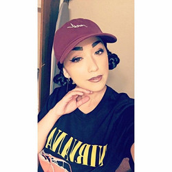 Pass that 🎵🔥💨 Check out her latest music #linkinherbio__#gavlyn #nirvana #tee #westkings #bergund