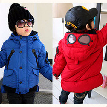"""Куртка для мальчика """" Очки"""""""