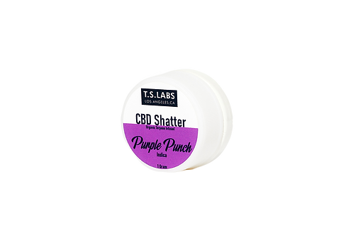 CBD Terpsolate 98%: Purple Punch