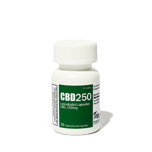 CBD Gel Capsules 250MG