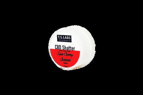 CBD Terpsolate 98%: Sour Cherry Sherbert