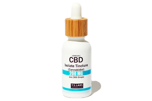200mg CBD Isolate Tincture