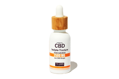 2500mg CBD Isolate Tincture