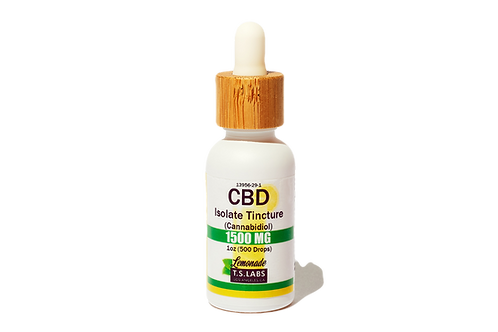 1500mg Lemonade CBD Isolate Tincture