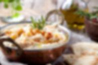 grão de bico Hummus