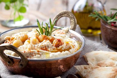 Kichererbse Hummus