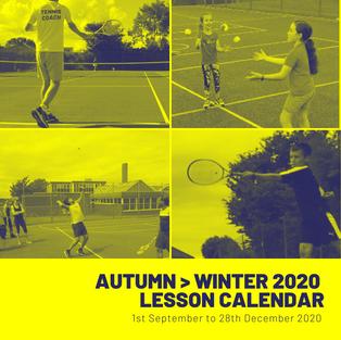 Autumn > Winter 2020