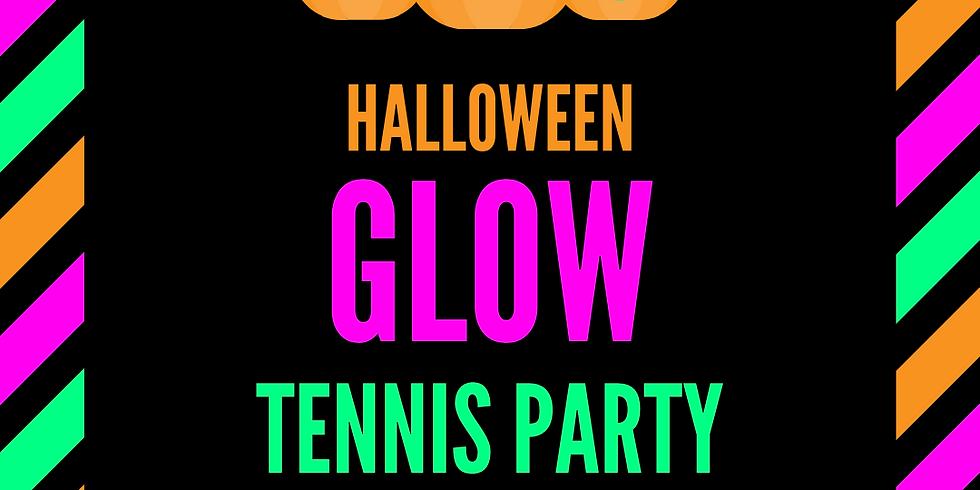 Halloween Glow Tennis Party