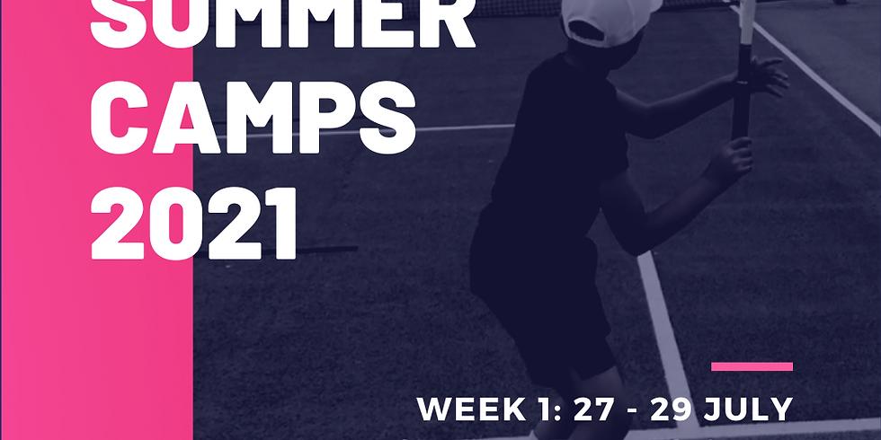 Summer Camp: Wk 1 @ PTC
