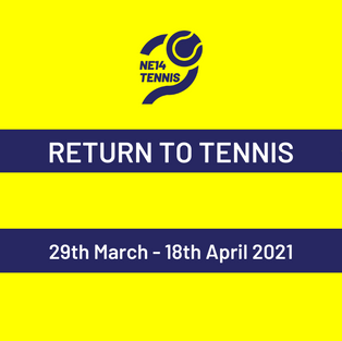 TENNIS IS BACK (AGAIN!)